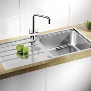 Blanco Lemis XL 6S-IF single bowl sink & waste kit