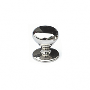 Mayberry Knob Polished Nickel 32mm