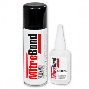 Mitre-Bond Pack 100G Glue & 400ml Activator
