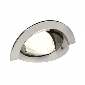Monmouth Cup Handle Polished Nickel 64mm