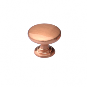 Monmouth Knob Brushed Copper 38mm