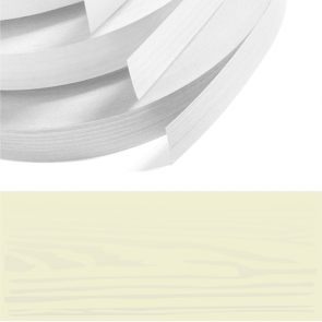 Mussel Woodgrain PVC Edging 22mm x 2.0mm x 100m Unglued