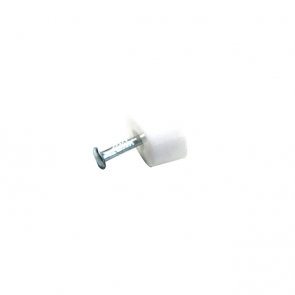 Nail-In Shelf Support White