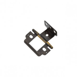 Amerock Partial-Wrap Hinge Antique Bronze