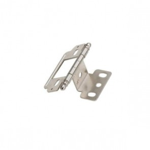 Amerock Partial-Wrap Hinge Chrome / Nickel