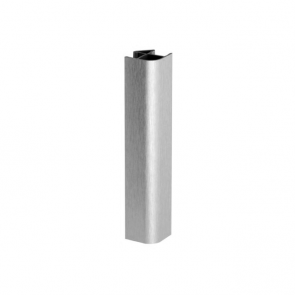 Stainless Steel Effect Plinth 90' Joint