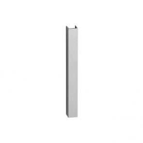 Stainless Steel Effect Plinth End Cap