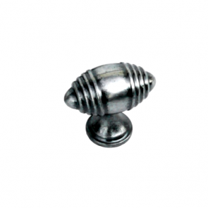 Provence Knob Antique Pewter 50mm