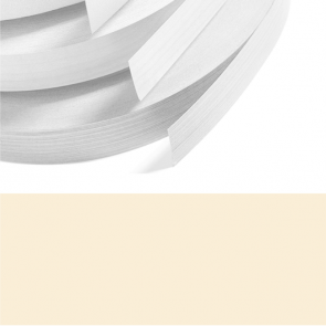Sand Beige Textured PVC Edging 22mm x 0.8mm x 150m Unglued