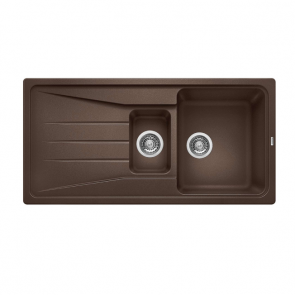 Blanco Sona 6S Silgranit Sink Coffee