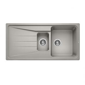 Blanco Sona 6S Silgranit Sink Pearl Grey