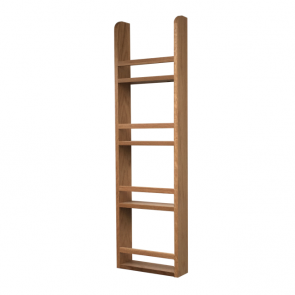 Spice Rack 1000mm x 300mm x 90mm White Oak