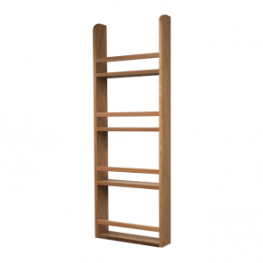 Spice Rack 1000mm x 400mm x 90mm White Oak