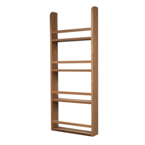 Spice Rack 1000mm x 500mm x 90mm White Oak