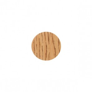 13mm Stick-On Cover Caps Light Oak