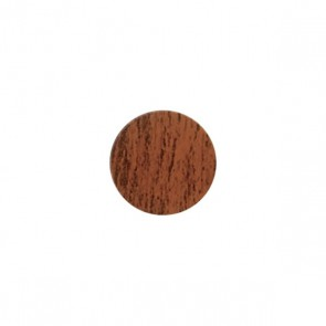 13mm Stick-On Cover Caps Natural Walnut