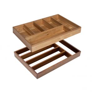 Bespoke wooden cutlery trays