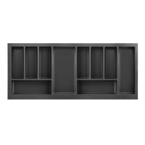 Cutlery Tray to suit 1000mm Unit Soft Touch Black