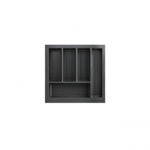 Cutlery Tray to suit 500mm Unit Soft Touch Black