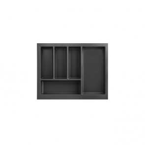 Cutlery Tray to suit 600mm Unit Soft Touch Black