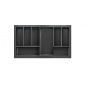 Cutlery Tray to suit 800mm Unit Soft Touch Black