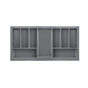 PRO Drawer Cutlery Tray To Suit 900mm Unit Anthracite