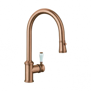 Blanco Vicus Single Lever Spray Brushed Copper