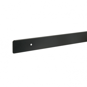 Worktop End 600mm Black