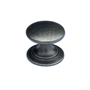 Windsor Round Knob Antique Pewter 38mm