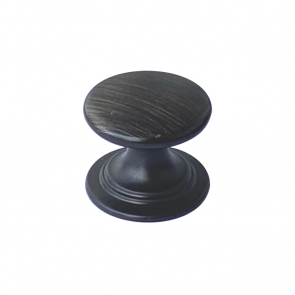 Windsor Round Knob Black Bronze 38mm
