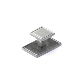 Windsor Knob And Plate Stainless Steel 30mm
