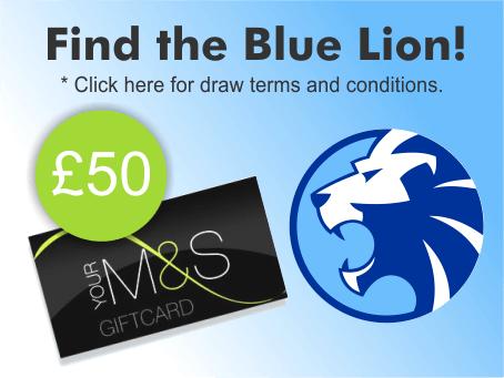 Blue Lion Gift Vouchers