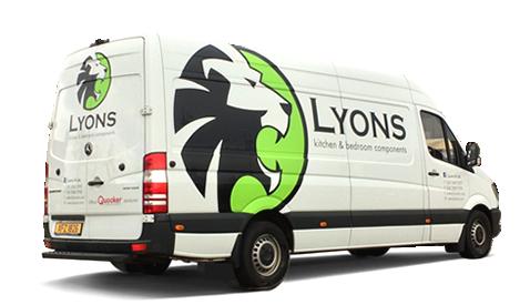 Lyons NI Delivery Van